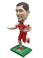 Football custom bobble head doll 4