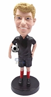 Soccer Man custom bobble head doll   New Style 2