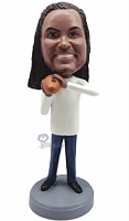 Football custom bobble head doll 12