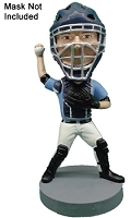 Baseball Catcher Personalized bobble head doll