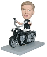 Motorcycle Man custom bobble head doll