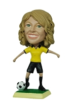 Soccer Female custom bobble head doll