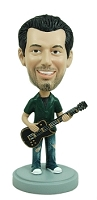Guitar custom bobble head doll