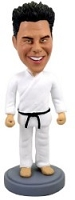 Karate Man custom bobble head doll