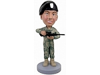 Military custom bobble head doll 4