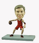 Basketball champ custom bobble head doll