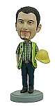 Construction Worker custom bobble head doll