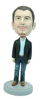 Man with hands at side custom bobble head doll