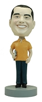 Male Coach custom bobble head doll 1