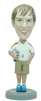 Coach Male custom bobble head doll 2