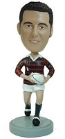 Football Player custom bobble head doll (Rugby)