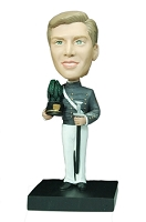 Band Player (Marching) custom bobble head doll