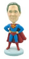 Superman custom bobble head doll