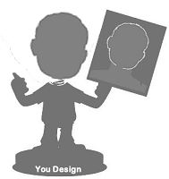 Design your own single bobble head | Great gift idea