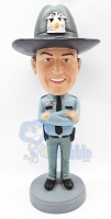 State trooper personalized bobble head doll