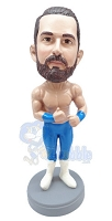 The muscle man custom bobble head doll
