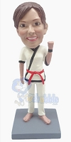 The Karate custom bobble head doll 5