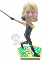 Baseball Gal Batter custom bobblehead 2
