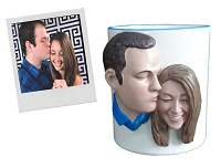 Custom Snow Globe | Custom Mug Couple
