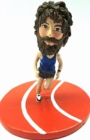 Runner personalized bobble head doll premium on track