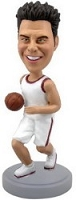 Basketball Player personalized bobble head doll
