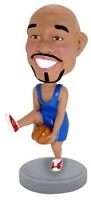 Basketball Man custom bobble head doll