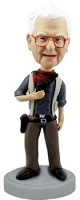 Cowboy custom bobble head doll