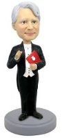 Music Conductor custom bobble head doll