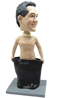 Streaker male custom bobble head doll