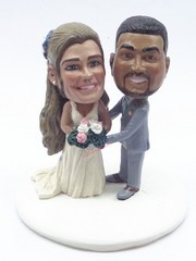 Custom Snow Globe | Male And Female Wedding