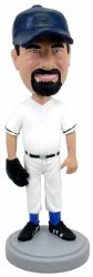 Baseball player outfield bobblehead