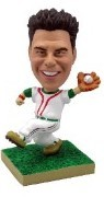 Baseball Catching Personalized bobble head doll