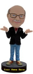 Casual Business Man custom bobble head doll