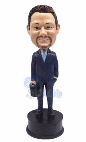 custom bobblehead man with Briefcase 5