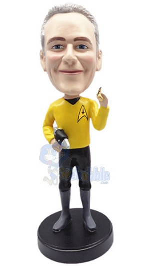 Star Trek Male custom bobble head doll