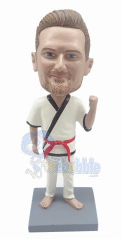 The Karate custom bobble head doll 4