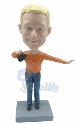 Cameraman custom bobble head doll 2