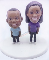 Mother and son or brother and sister custom couple
