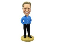 Business Casual custom bobblehead doll
