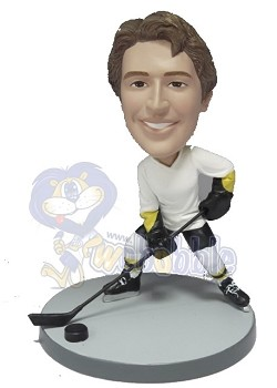 Hockey custom bobble head doll  (NEW)