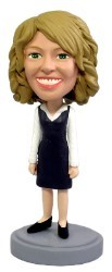 Office Worker 3 custom bobble head doll