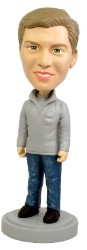 Cool and Casual custom bobble head doll