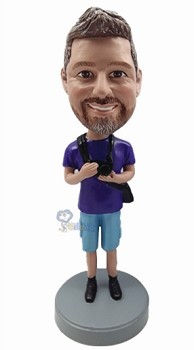 Camera Man custom bobble head doll 2