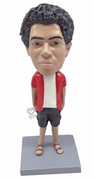 Hands in Pocket custom bobble head doll 5