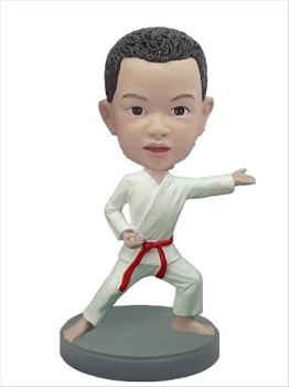 The Karate custom bobble head doll 2