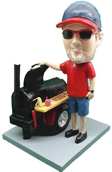 Master Griller BBQ custom bobble head doll