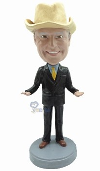 Executive in Suit custom bobble head doll 5