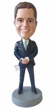 Executive in Suit custom bobble head doll 6