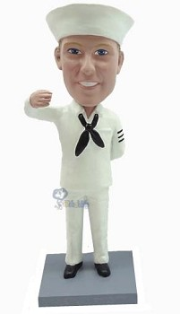 Sailor personalized bobble head doll