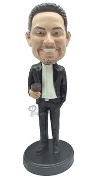 Man with Cup custom bobblehead9